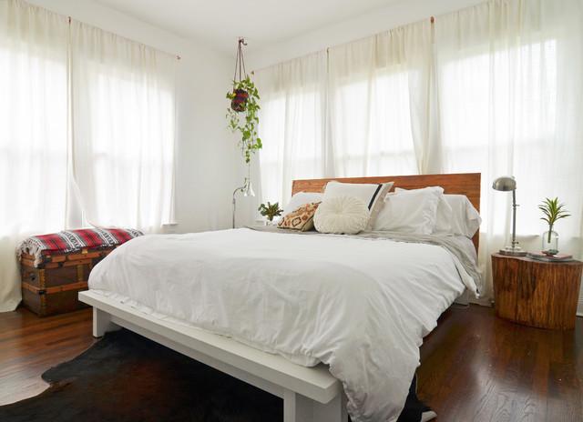 Dallas, TX: Sara & Rocky Garza eclectic-bedroom