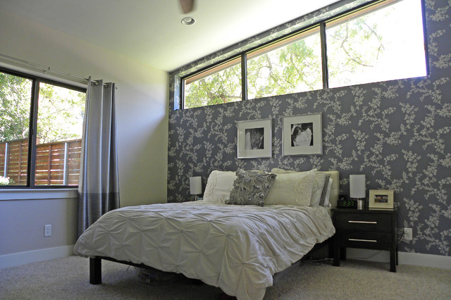 modern bedroom by Sarah Greenman