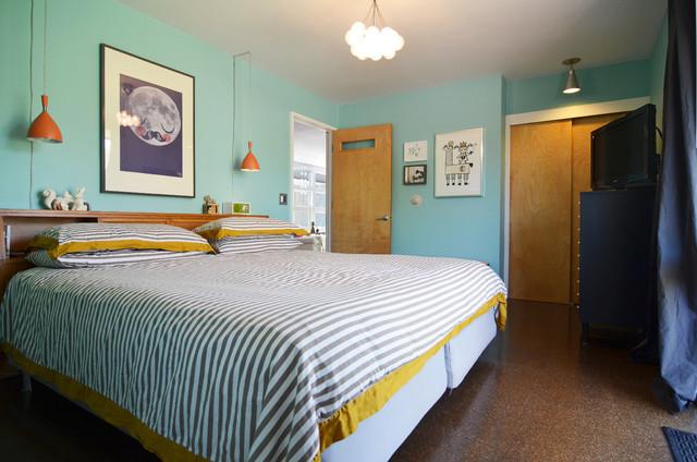18 Vivid and Chic Mid-Century Bedroom Design Ideas - Rilane