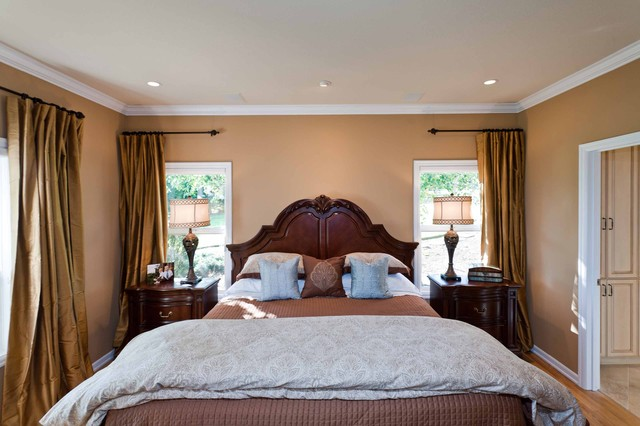 Dulce Almond Master Bedroom traditional-bedroom