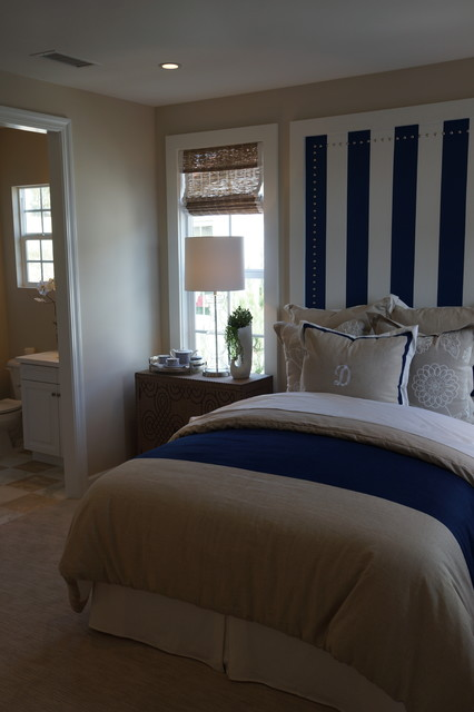 Davidson Arterro Guest Bedroom Mediterranean Bedroom