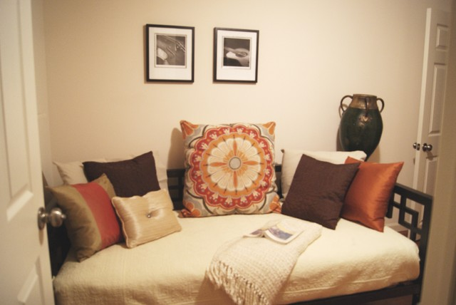 daybed guest room bedroom philadelphia by busybee design
