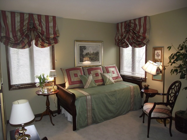 daybed guest room traditional bedroom philadelphia