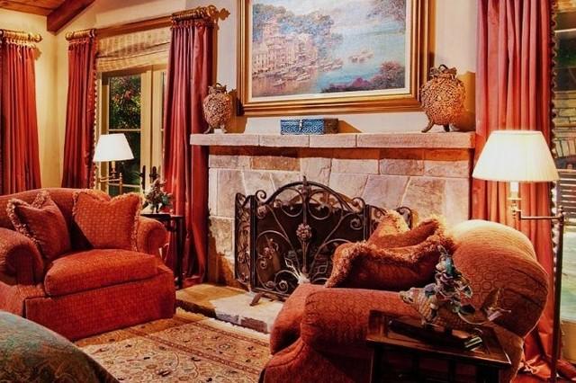 Debra Campbell Design mediterranean-bedroom