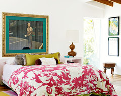 Decorate by Holly Becker and Joanna Copestick eclectic bedroom