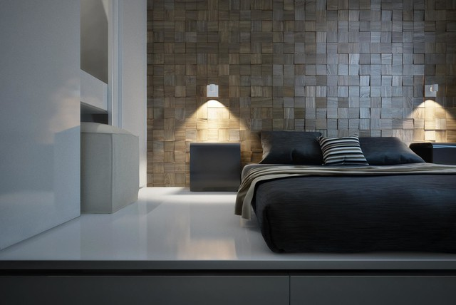 Decorative Wall Panels Modern Bedroom Miami By