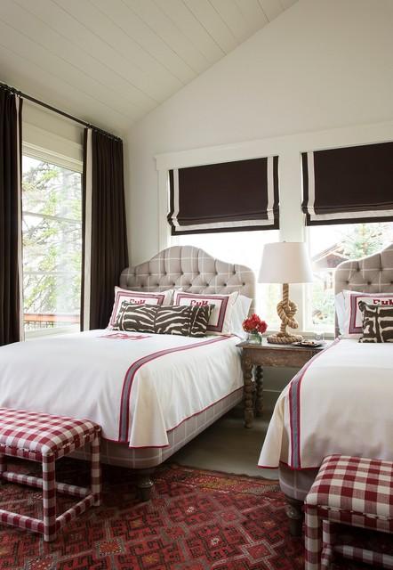 Deer Valley, Utah Retreat transitional-bedroom