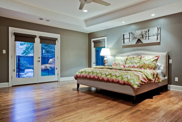 del roy project nortex custom hardwood floors traditional bedroom
