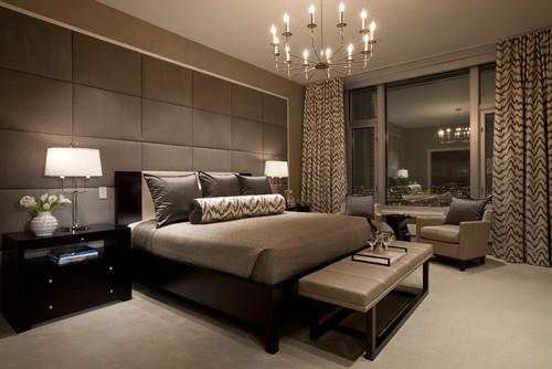 modern romantic bedroom