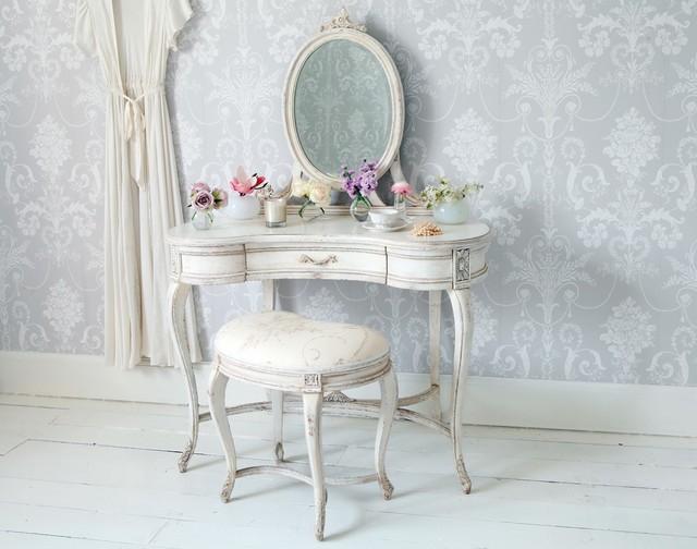 Delphine Shabby Chic Dressing Table - Shabby-Chic Style - Camera da ...