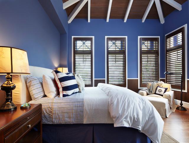 Delray Beach, FL tropical-bedroom