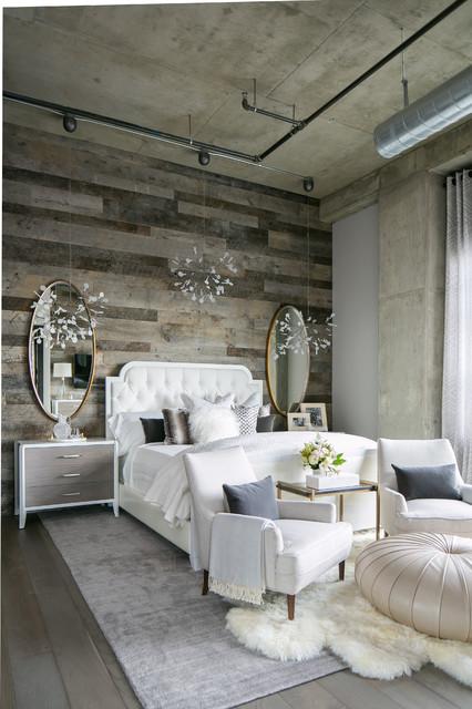 Master Bedroom - Industrial