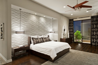 Desert Mountain- Sunset Canyon- Contemporary contemporary-bedroom
