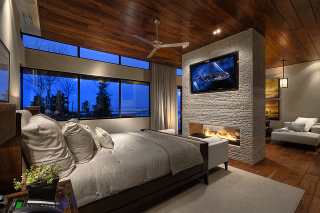 Desert Oasis contemporary-bedroom