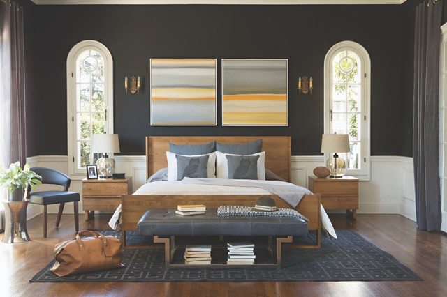 Designed By Jeff Lewis   Winter 2014 Catalog Contemporary Bedroom