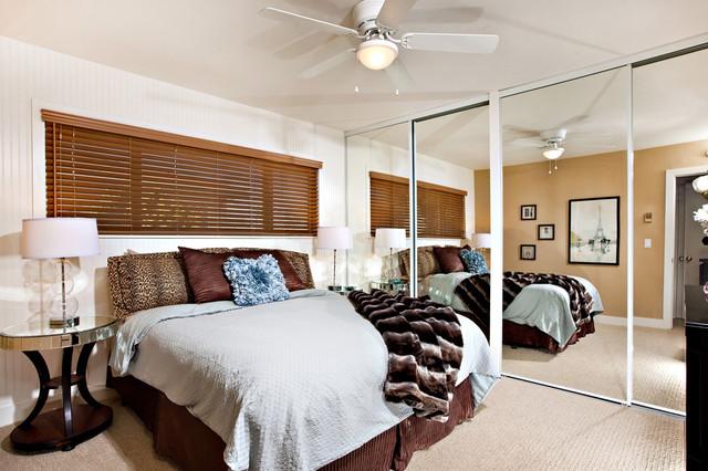 Designed Interiors eclectic-bedroom