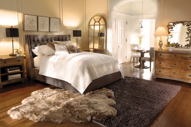 Devereaux Bed  Eclectic  Bedroom  Cleveland  by Arhaus