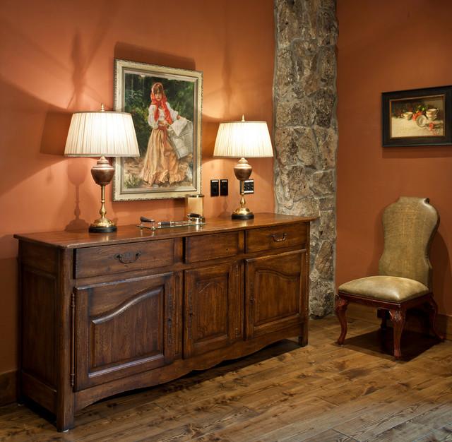 Devil's Thumb Residence rustic-bedroom