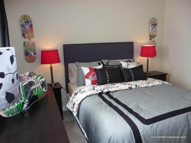 Devonleigh model home boys bedroom modern bedroom toronto by