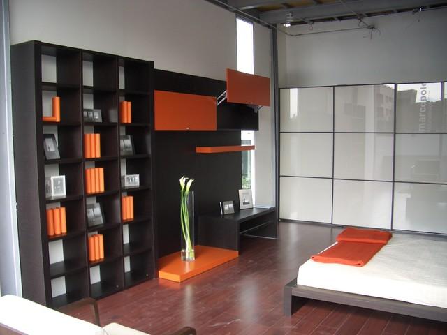 recamara contemporary-bedroom