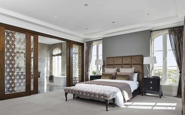 Display home bordeaux 56 traditional bedroom melbourne by metricon for Metricon homes interior design