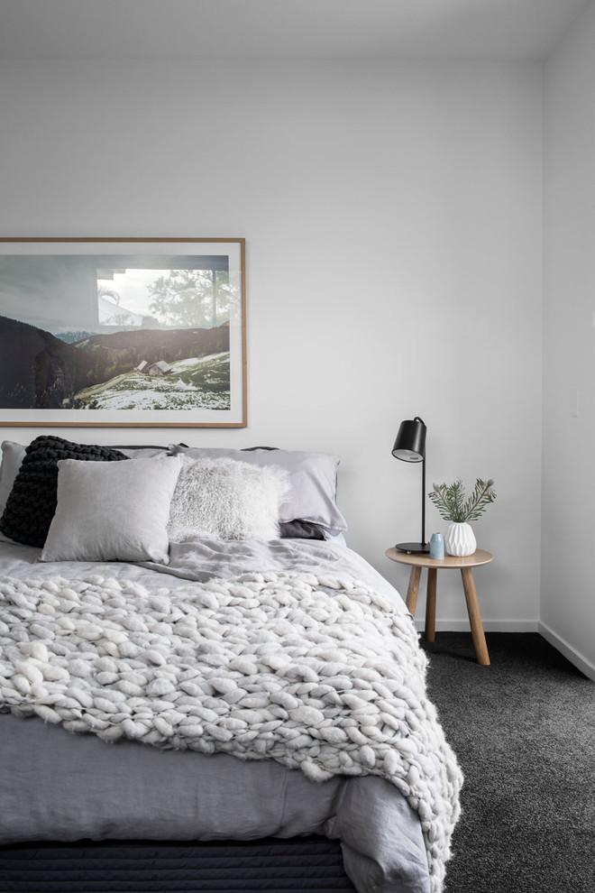 Danish bedroom photo in Brisbane