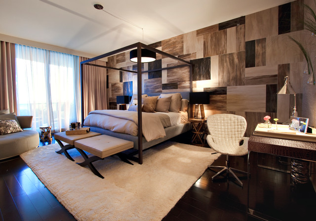 Contemporary Bedroom by DKOR Interiors Inc.- Interior Designers Miami, FL