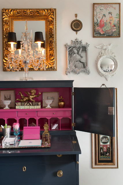 Donna Benedetto eclectic-bedroom