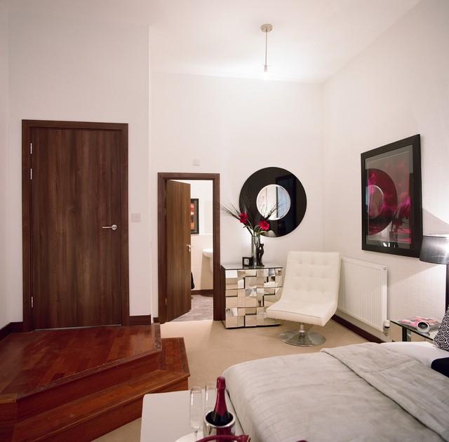 door and doorsets  modern  bedroom  essex  by abl doors, Bedroom decor