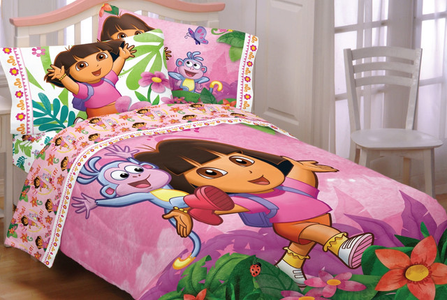 Dora and diego bedding and room decorations modern for Dora the explorer bedroom ideas