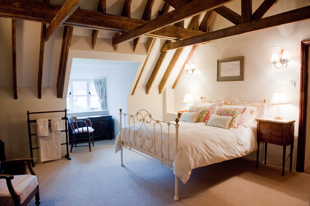 example of a classic bedroom design in dorset - Cozy Bedroom Design