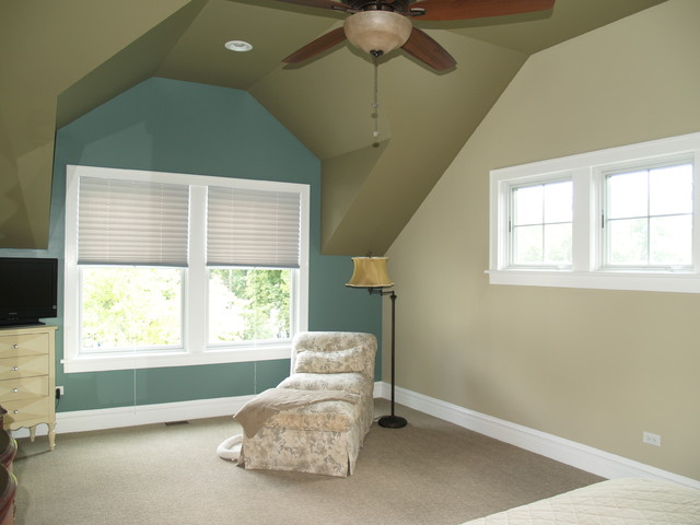 Downers Grove Addition traditional-bedroom