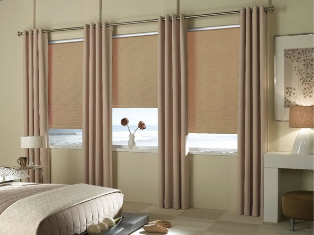 Drapes transitional-curtains