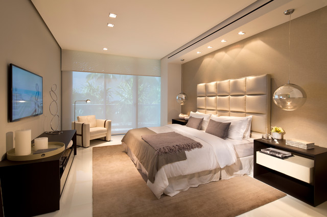 Dream home 1 Modern minimalist master bedroom