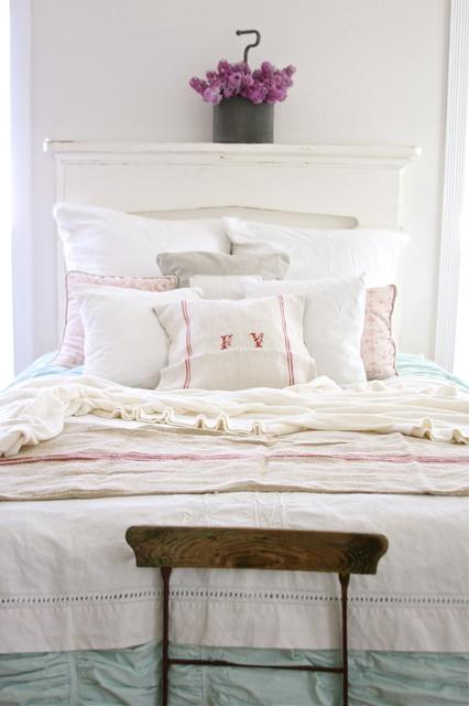 Dreamy Whites rustic-bedroom