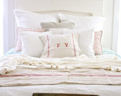 Dreamy Whites rustic-bedroom