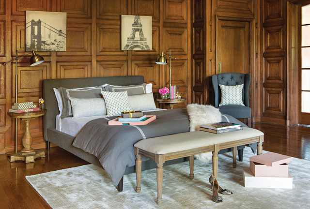 Http Www Houzz Com Photos 20978713 Dress Up Traditional Bedroom Los Angeles