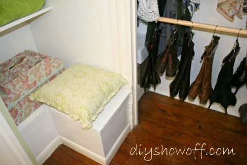 Dressing Room {guest bedroom 2}/Closet Organization traditional-bedroom