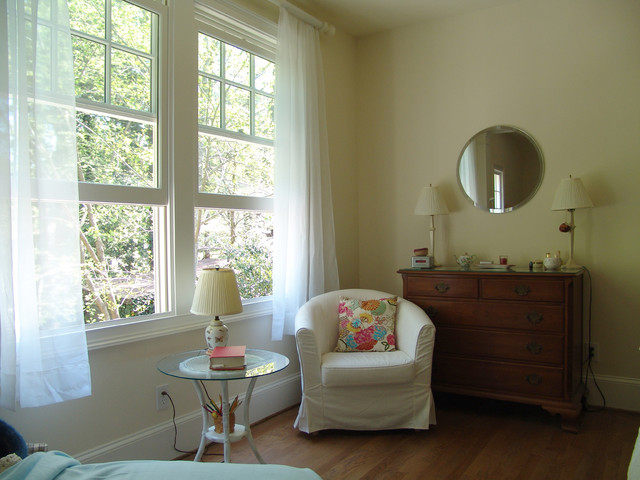 Druid Hills Master Bedroom Remodel - New Large Windows for sitting area traditional bedroom