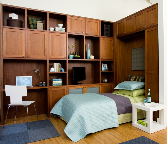 Bedroom Before And After Pictures Bedroom Colors Photos Bedroom Tv Unit Color Schemes For Bedroom: Dual Purpose Home Office With Wall Bed