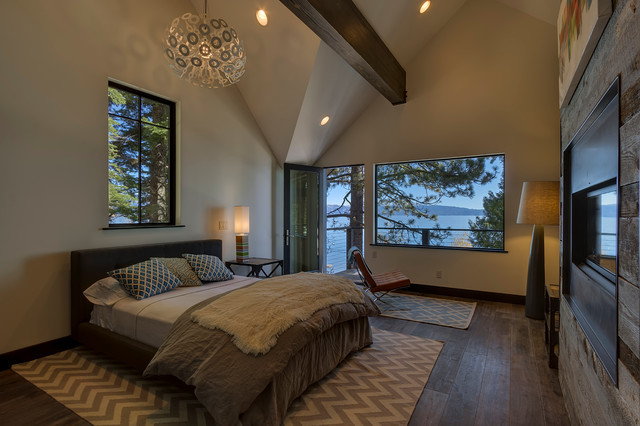 Lovely Duchateau Hardwood Flooring Contemporary Bedroom