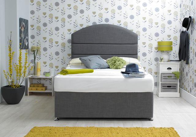 Dudley divan bed transitional bedroom other by for Bedroom divan