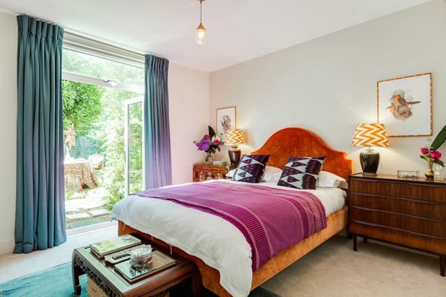 Dulwich Delight Tropical Romance Master Bedroom