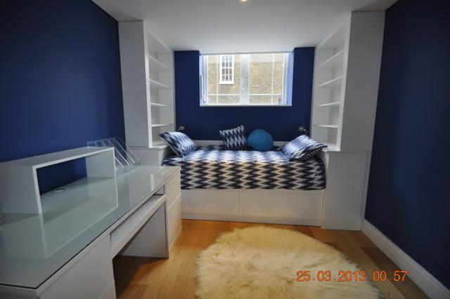 Duncan Terrace contemporary-bedroom