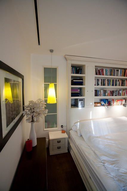 Duplex appartment contemporary-bedroom