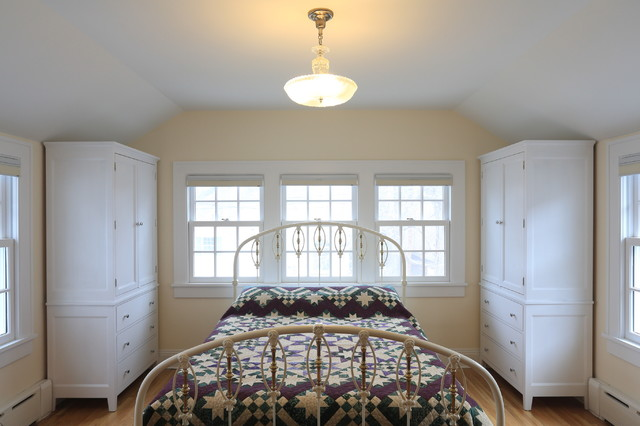 Dutch Colonial Remodel traditional-bedroom