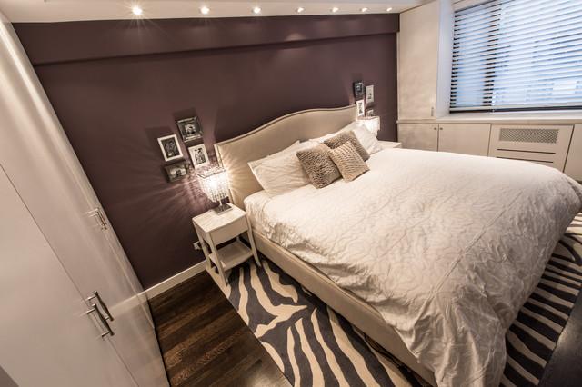 E 63rd Street contemporary-bedroom