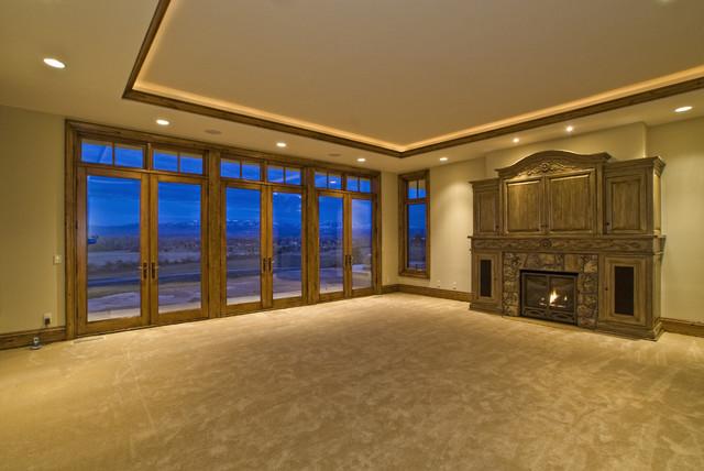 Eagle, Idaho Custom Home eclectic-bedroom