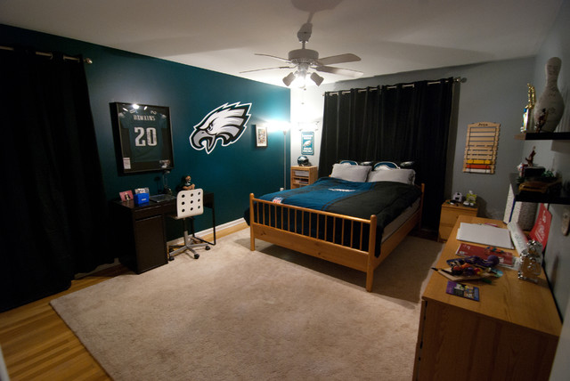 Eagles Football Bedroom For Kid Modern Bedroom