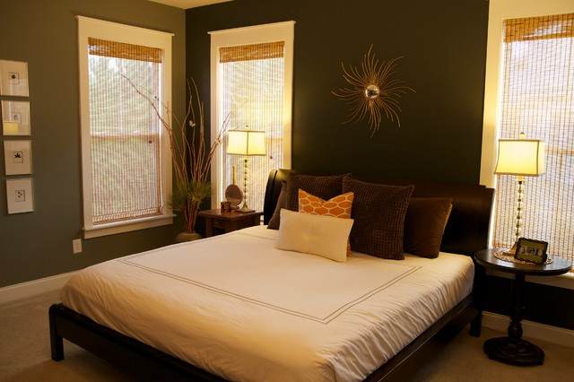 Bedroom design earthy home decoration live for Earthy apartment decor